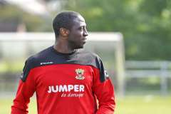 2020-09-10: - JacobMulenga - Voetbal: Training Go Ahead Eagles: Wesepe