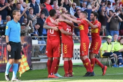 14-10-2018: - RichardvanderVenne - ThomasVerheydt - GinoBosz - Voetbal: Go Ahead Eagles v Roda JC: DeventerKeuken Kampioen Divisie seizoen 2018-2019L-R: Ricahard van der Venne, Thomas Verheydt, Gino Bosz of Go Ahead Eagles