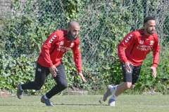 15-05-2020: - SoufyanAhannach - ElsoBrito - Voetbal: Training Go Ahead Eagles: Deventer