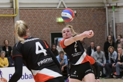 17-03-2019: - BentheOldeRikkert - Volleybal: Vrouwen Dynamo Draisma v Apollo 8: ApeldoornEredivisie volleybal dames degradatiepouleBenthe Olde Rikkert of Apollo 8Degradatiepoule; eredivisie volleybal; seizoen 2018-2019; dames;