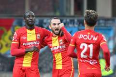 2020-10-17: - JacobMulenga - ErkanEyibil - Voetbal: Go Ahead Eagles FC Eindhoven: Deventer