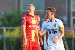 - IsacLidberg - PatrickVroegh - Terwolde, the Netherlands, 23 july 2021: friendly game, Go Ahead Eagles Vitesse