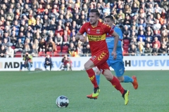24-03-2019: - PacovanMoorsel - AitorCantalapiedra -Voetbal: Go Ahead Eagles v FC Twente: DeventerKeukenkampioendivisie seizoen 2018-2019L-R: Jeff Stans of Go Ahead Eagles, Christian Gonzales of FC Twente
