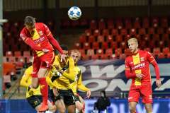 2020-10-26: Voetbal: - SamBeukema - LuukBrouwers - Go Ahead Eagles NAC Breda: Deventer