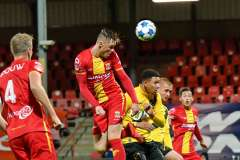 2020-10-26: - SamBeukema - Voetbal: Go Ahead Eagles NAC Breda: Deventer
