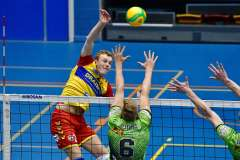 - MartijnBrilhuis - JanHelenius - Apeldoorn: the Netherlands; 29th of september 2021; Volleybal: Friendly match between Drraisma Dynamo and Active Living Orion