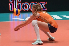30-05-2019: - NicoleOudeLuttikhuis - Volleybal: Vrouwen Nederland v Polen: ApeldoornVolleyball Nations LeagueV.l.n.r.: Nicole Oude-Luttikhuis of the Netherlands