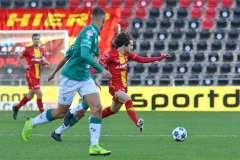2020-10-31: - MaelCorboz - Voetbal: Go Ahead Eagles Excelsior: Deventer
