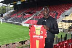 2020-10-08: - JacobMulenga - Voetbal: Jacob Mulenga tekent contract bij Go Ahead Eagles: Deventer